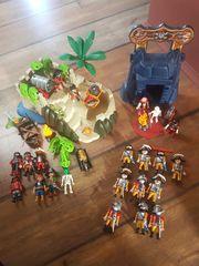 Großes Playmobil Piraten und Soldatenset