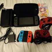 Nintendo Switch Pro rot blau