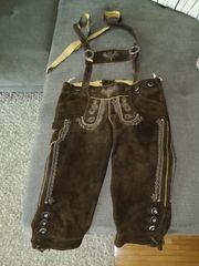 Damen Trachten Lederhose Gr 34