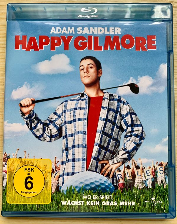 Happy Gilmore Blu ray Film