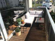 Garten- Balkonlounge mit Tisch