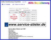 EVB Nummer Online Service Tel