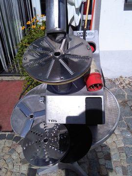 Küchenherde, Grill, Mikrowelle - Professionelle Küchen-Schneide-Reibe- Maschine