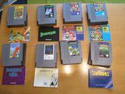 Nintendo - NES Spiele aus den