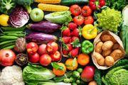 altes Obst Gemüse Brot und