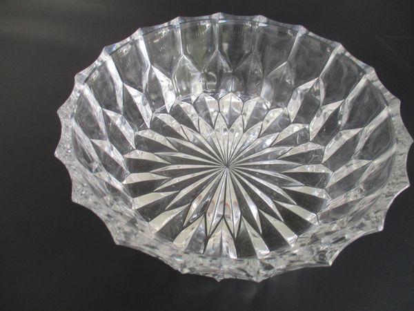 Bleikristall Schale