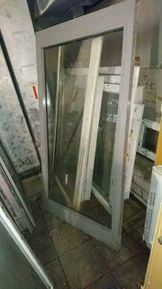 Aluminium Festelement 93 cm breit