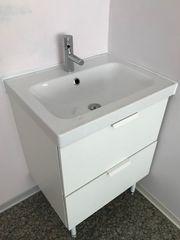 neuwertiges Waschbecken ohne Gebrauch mit