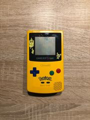 Nintendo GameBoy Color Special Pikachu