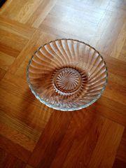 Glasschale 17 cm Durchmesser