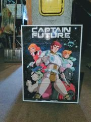 CAPTAIN FUTURE plakat