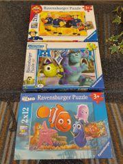 4 Stück Ravensburger Puzzle für