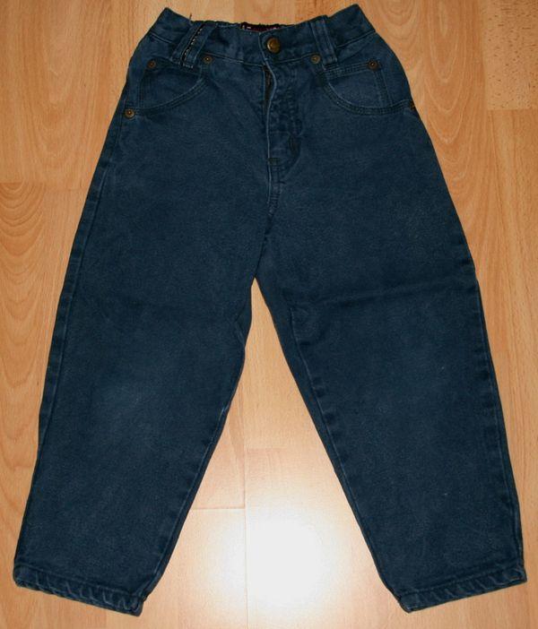 Blaue Jeans-Hose - Größe 104 - mit