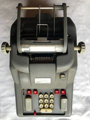 Rechen Additionsmaschine Addo-X 345 E