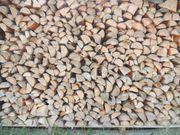 Brennholz - Fichte - Buche trocken und