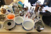 Küchenutensilien insgesamt 36 Teile