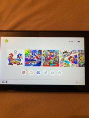 Nintendo Switch mit 6 Topspielen