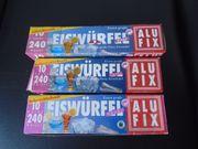 3 Packungen Alufix Eiswürfelsäcke neu