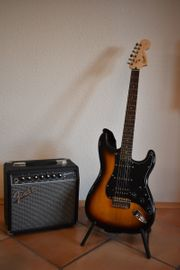 Fender E-Gitarre Starterkit WIE NEU