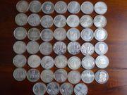 46 x 10EUR Münzen - alle