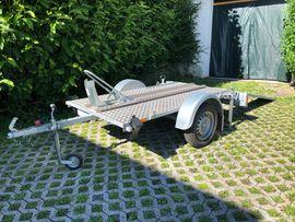 Motorradanhänger Anhänger für Transport Motorrad: Kleinanzeigen aus Wolfurt - Rubrik Motorradwerkzeug, Werkstattausrüstung