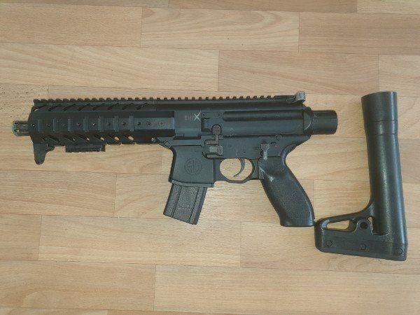 Sig Sauer Mpx 4, 5mm Co2 Softair