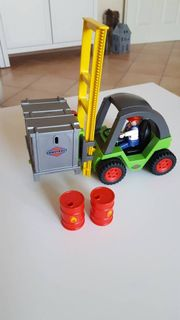 Playmobil Gabelstabler
