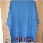 Herren T-shirt in hellblau 6XL