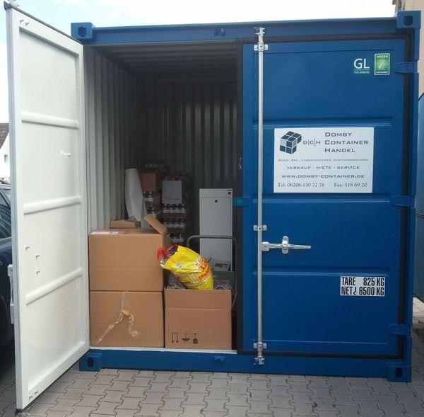 Lagerraum Abstellraum im See- Lagercontainer