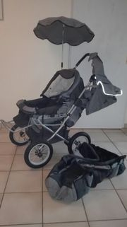 Kinderwagen Teutonia m viel Zubehör