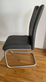 XORA Freischwinger-Stuhl Serie ELY - 4