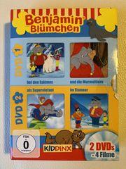 Benjamin Blümchen 4 Filme auf