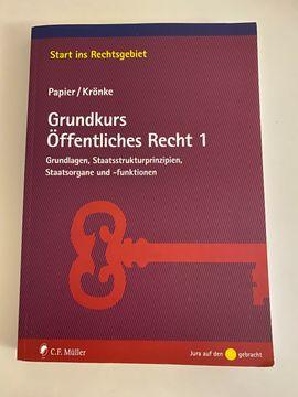 Grundkurs Öffentliches Recht 1, Zustand UNBENUTZT, Auflage: 2012