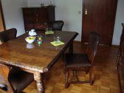 Englisches Esszimmer Antiker Tisch 4