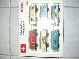 Modelleisenbahnen - Märklin HO 2 Schweizer Güter--
