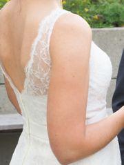 Brautkleid aus Spitze Gr 40