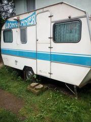 Campingwagen für den Garten