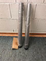 Tischfüsse 2 Stk Stahl Höhenverstellbar