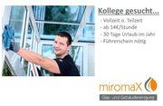 Kollege gesucht Fensterputzer - freie Zeiteinteilung