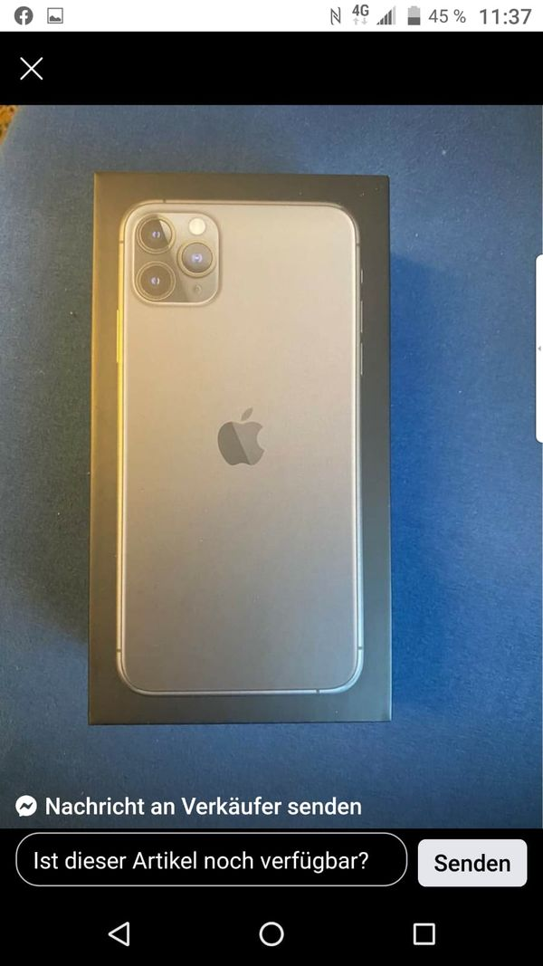 iPhone 11 Pro Max wie