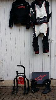 Motorrad Stiefel alpinestar Gr 44