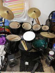 Gebrauchtes Schlagzeug für Anfänger