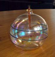 Federleichte Öl-Lampe ganz aus Glas