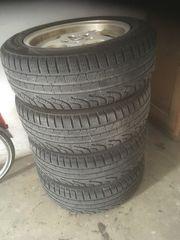 Alufelgen mit Pirelli Winterreifen 215