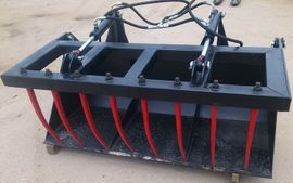 Bild 4 - Krokodilzange für Frontlader 1m Krokodilgebiss - Babimost