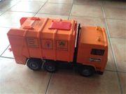 Bruder MAN Müll-LKW orange NEU