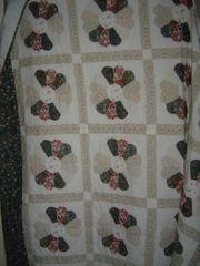 PatchworkTagesdecke für Bett oder Sofa