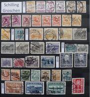 Schilling Groschen 1925-1937 Gesamtpreis
