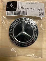 Original Mercedes Radnabendeckel Alufelgen