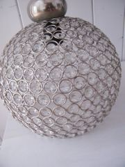 Deckenlampe Esstischlampe rund Kristall